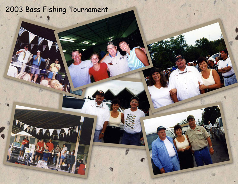 2003 Bass Fishing Tournament